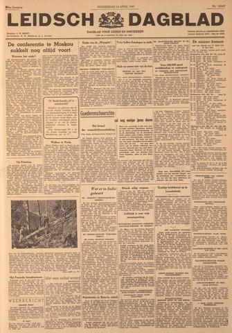 Leidsch Dagblad 1947-04-24
