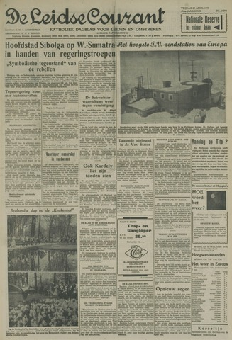 Leidse Courant 1958-04-25
