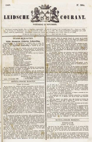Leydse Courant 1869-11-24