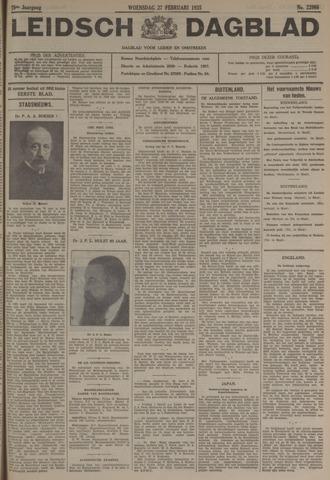 Leidsch Dagblad 1935-02-27