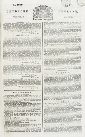 Leydse Courant 1838-06-13