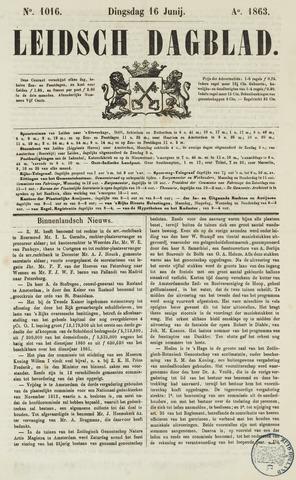 Leidsch Dagblad 1863-06-16