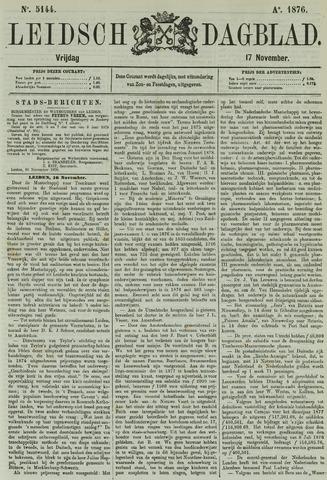 Leidsch Dagblad 1876-11-17