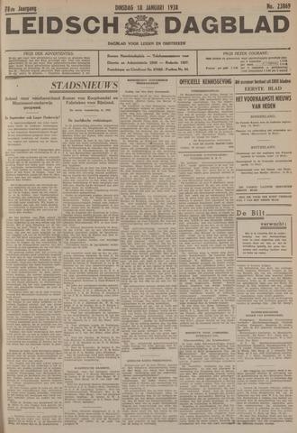 Leidsch Dagblad 1938-01-18