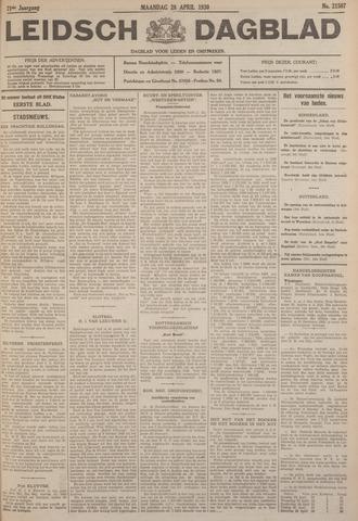 Leidsch Dagblad 1930-04-28