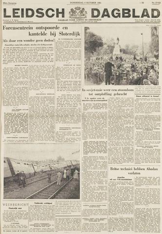 Leidsch Dagblad 1951-10-04