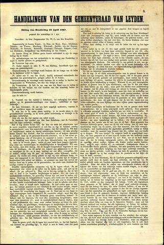 Handelingen van de Raad 1867-04-18