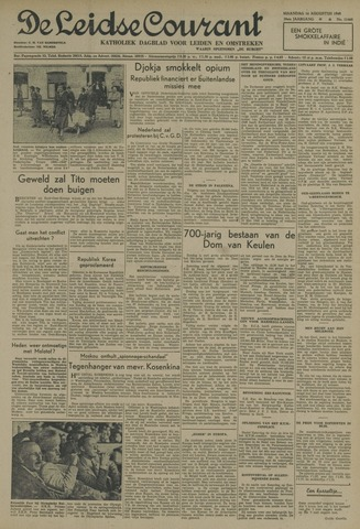 Leidse Courant 1948-08-16