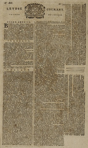 Leydse Courant 1807-08-07