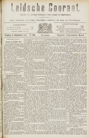 Leydse Courant 1889-09-27