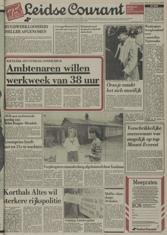 Leidse Courant 1984-10-18