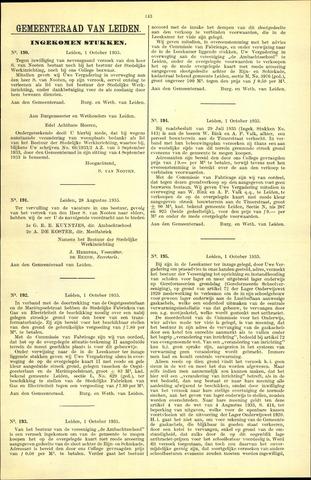 Handelingen van de Raad 1935-10-01