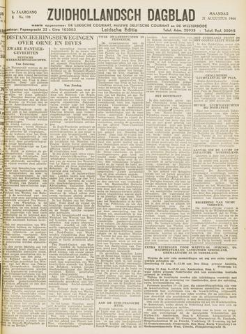 Zuidhollandsch Dagblad 1944-08-21