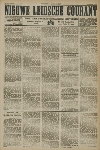 Nieuwe Leidsche Courant 1927-01-24