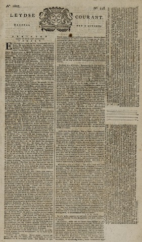 Leydse Courant 1807-10-26