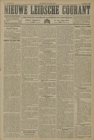 Nieuwe Leidsche Courant 1927-06-25