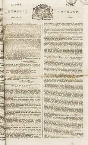 Leydse Courant 1844-04-01