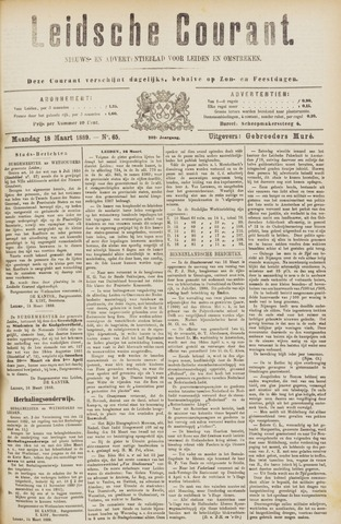 Leydse Courant 1889-03-18