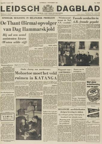 Leidsch Dagblad 1961-11-04