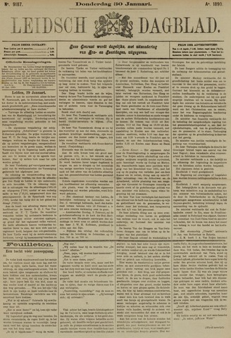 Leidsch Dagblad 1890-01-30