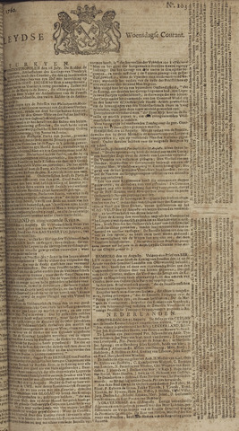 Leydse Courant 1760-08-27