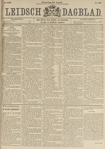 Leidsch Dagblad 1894-04-10