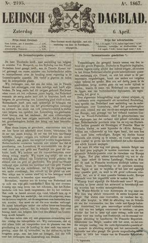 Leidsch Dagblad 1867-04-06