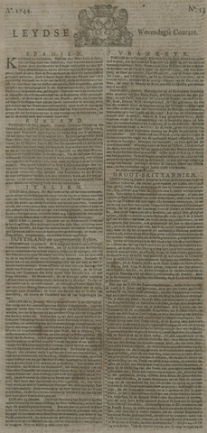 Leydse Courant 1744-01-29