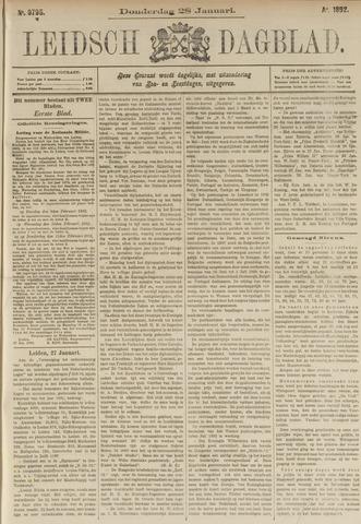 Leidsch Dagblad 1892-01-28