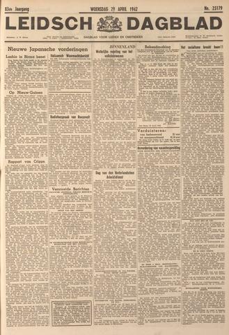Leidsch Dagblad 1942-04-29