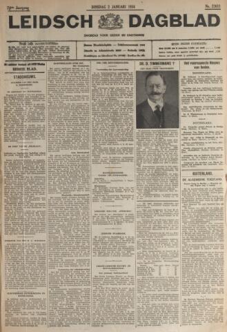 Leidsch Dagblad 1934