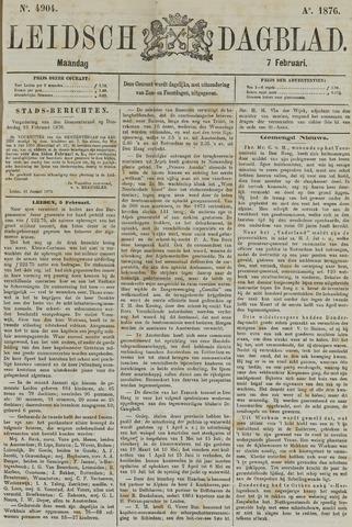 Leidsch Dagblad 1876-02-07