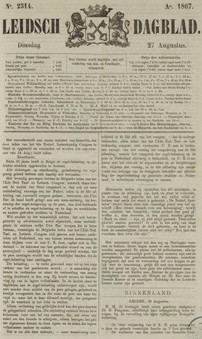 Leidsch Dagblad 1867-08-27
