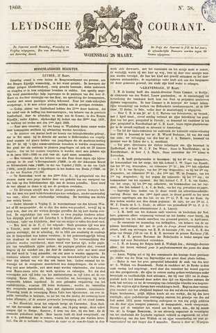 Leydse Courant 1860-03-28
