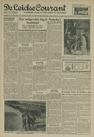 Leidse Courant 1952-04-05