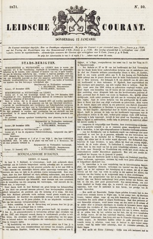 Leydse Courant 1871-01-12