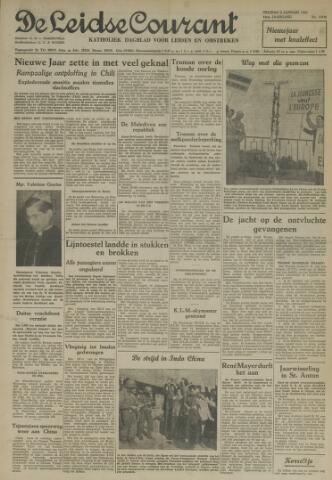 Leidse Courant 1953