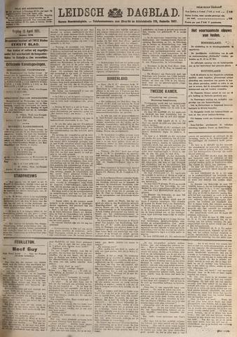 Leidsch Dagblad 1921-04-15