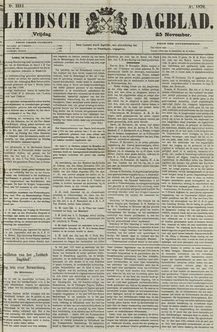Leidsch Dagblad 1870-11-25