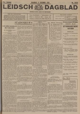 Leidsch Dagblad 1938-12-12