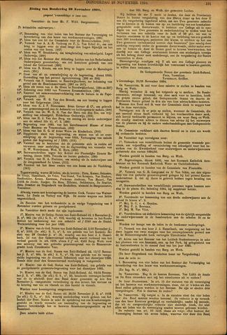 Handelingen van de Raad 1894-11-29