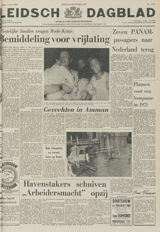 Leidsch Dagblad 1970-09-08