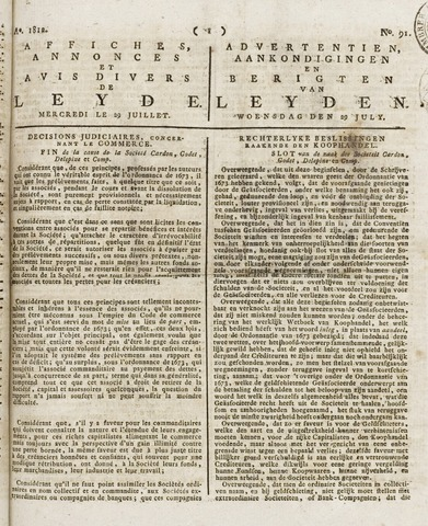 Leydse Courant 1812-07-29