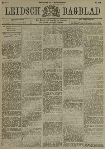 Leidsch Dagblad 1904-11-29