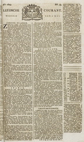 Leydse Courant 1825-05-18