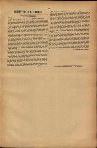 Handelingen van de Raad 1883-04-06