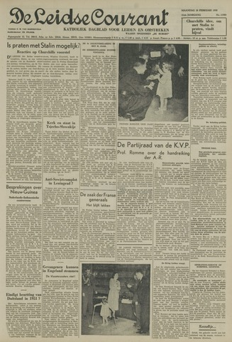Leidse Courant 1950-02-20