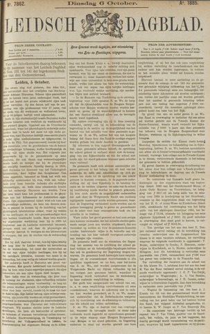 Leidsch Dagblad 1885-10-06