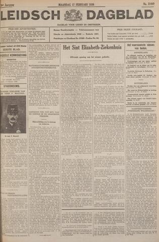 Leidsch Dagblad 1930-02-17
