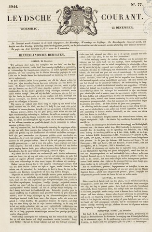 Leydse Courant 1844-12-25